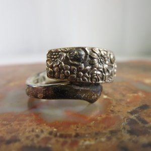 Vintage Sterling Towle Contessina Wrap Ring